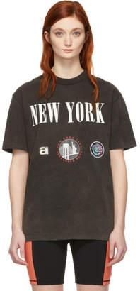 Alexander Wang Black New York Souvenir T-Shirt