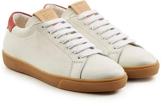 Closed Leather Sneakers