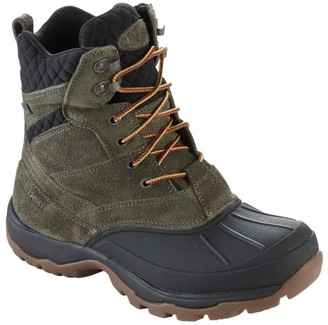 L.L. Bean L.L.Bean Men's Storm Chaser Suede Boots with Arctic Grip, Lace-Up