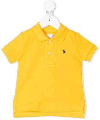 Ralph Lauren Kids logo embroidered polo shirt