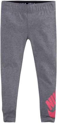 Nike Little Girl's Cotton Jersey Leggings