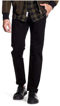TR PREMIUM TR Premium Striped Waist Band Detail Solid Yarn Dye Chino Pocket Pant