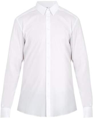 Dolce & Gabbana Gold-fit single-cuff stretch-cotton shirt