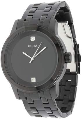GUESS U12604G1 Round Diamond Watch Dress Watches