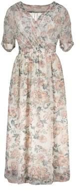 Sale - Ester Floral Silk Dress - Women's Collection - Louise Misha