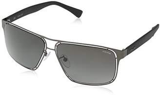 Police Men's S8955 Offside 2 Oversized Sunglasses