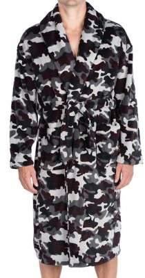 Majestic Cold Conquest Plush Fleece Shawl Robe