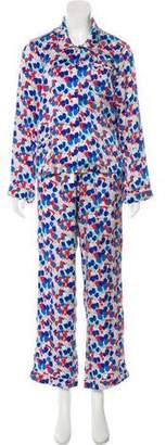 Morgan Lane Silk Pajama Set