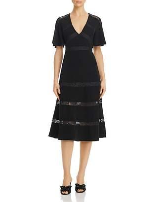 Keepsake Sense Lace-Inset Dress - 100% Exclusive