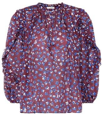 Ulla Johnson Lillian cotton and silk-blend blouse