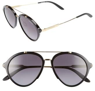 Carrera Eyewear 54mm Gradient Aviator Sunglasses