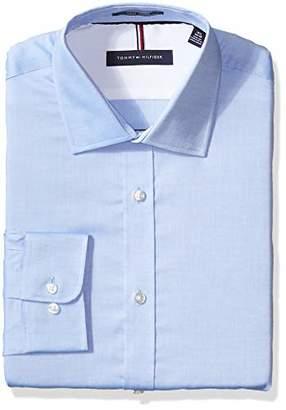 """Tommy Hilfiger Men's Slim Fit Dress Shirt -, 16.5"""" Neck 34""""-35"""" Sleeve"""