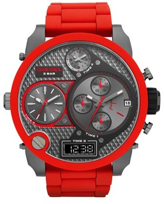 Diesel 'Mr. Daddy' Time Zone Watch, 58mm
