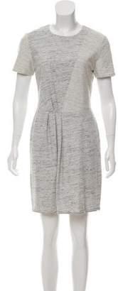 Tibi Asymmetrical Knit Dress