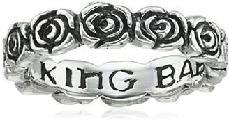 King Baby Studio Rose Infinity Ring