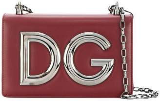 Dolce & Gabbana logo plaque clutch bag