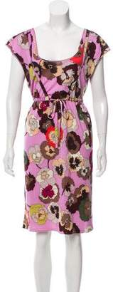 Missoni Floral Patterned Knee-Length Dress