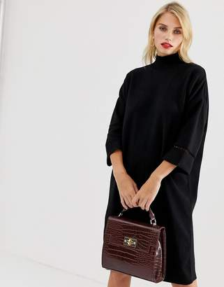 French Connection Milano Mozart high neck sweater dress