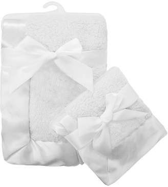 T.L.Care Tl Care TL Care 2-pk. Sherpa Receiving Blanket Set