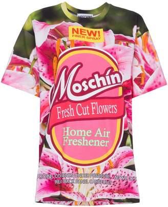 Moschino Fresh Cut Flowers Logo T Shirt