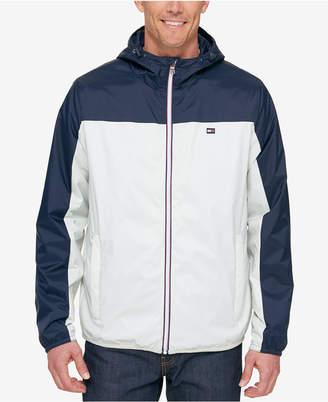 Tommy Hilfiger Men's Retro Hooded Raincoat