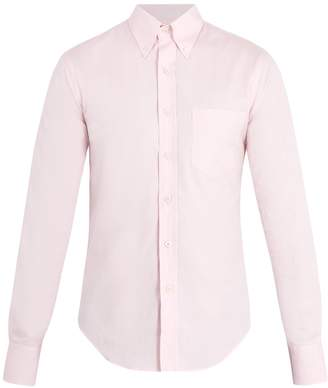 Prada Single-cuff oxford-cotton shirt