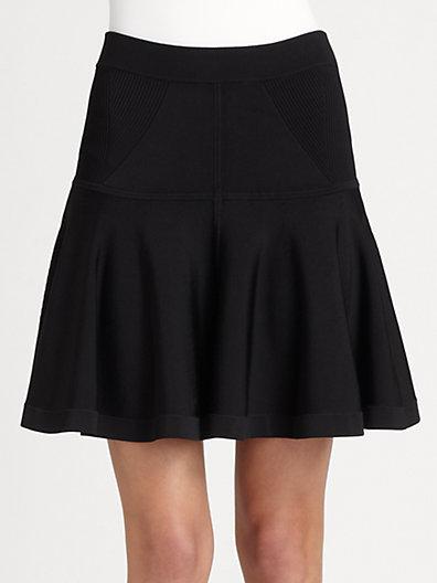 A.L.C. Lenoir Fit-&-Flare Skirt