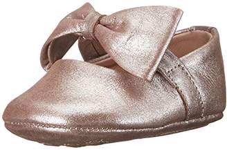 Elephantito Girls' Baby Ballerina with Bow-K Crib Shoe