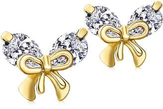 Barbie Fashion Jewelry Set Earrings Set Three Pairs of Earrings Alloy Bowknot&Pearls&Twrinkle Crystals Women Earrings #BSEH092
