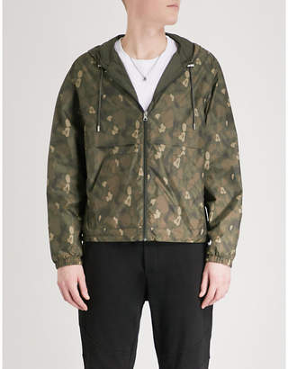 The Kooples Reversible shell windbreaker jacket
