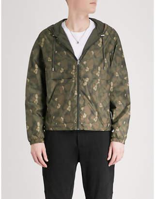 The Kooples Reversible shell windbreaker jacket