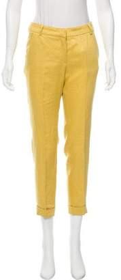 Les Copains Mid-Rise Straight-Leg Pants w/ Tags