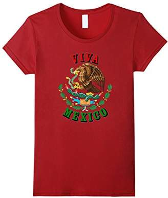 Viva Mexico Mexican Flag Independence Pride T-Shirt
