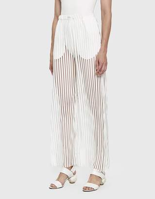 House Of Sunny Transparent Track Pants