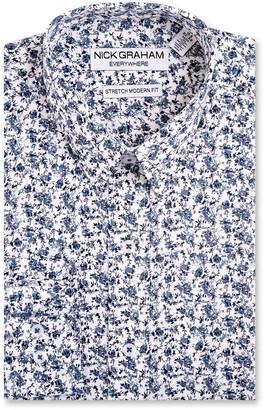 Nick Graham Men's Everywhere Modern-Fit Stretch Dress Shirt