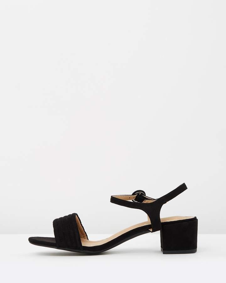 Spurr Aggy Block Heels