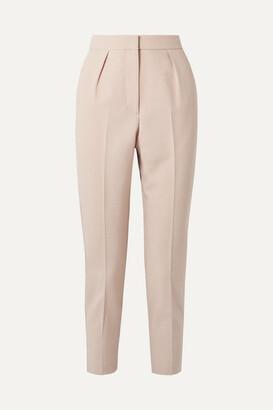 Theory City Twill Straight-leg Pants - Pastel pink