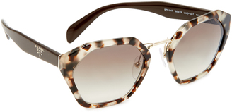 Prada Geometric Sunglasses $330 thestylecure.com