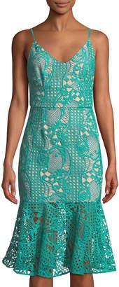 Cooper St Sandy-Shore Lace Illusion Dress