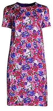 Escada Women's Divisu Floral Print Shift Dress