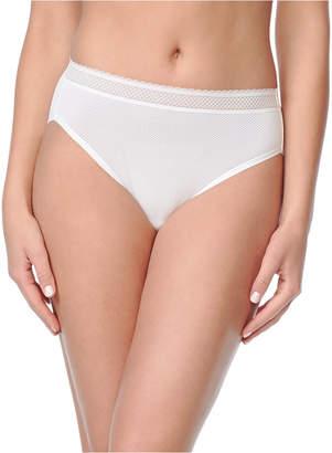 Warner's Warner Women Breathe Freely Lace Trim Hi-Cut Brief RT4901P