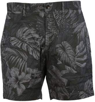 Michael Kors Tropical Stretch-cotton Shorts