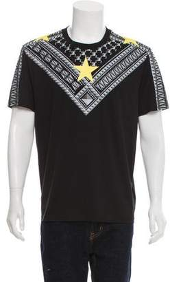 Givenchy Star & Stud Print T-Shirt