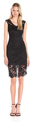 Marina Women's Sleeveless Lace Dress $22.31 thestylecure.com