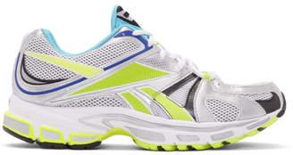 Vetements Grey Reebok Edition Spike Runner 200 Sneakers