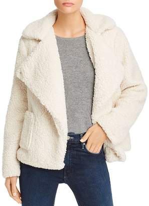 BB Dakota Soft Skills Sherpa Faux Fur Jacket