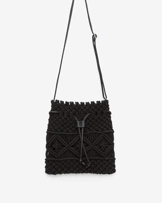 Express Crochet Bucket Bag