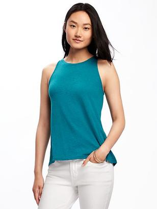 Relaxed Hi-Lo Tank for Women $10.94 thestylecure.com