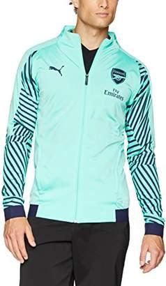 Puma Men's Arsenal FC Stadium Jacket With Sponsor