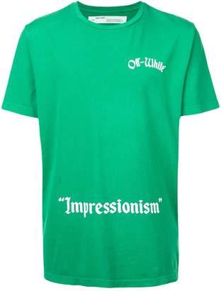 Off-White Impressionism S/S T-shirt